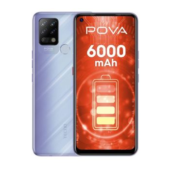 Tecno Pova 128GB 6GB RAM - Purple (TEC POVA 128/6 Pur)
