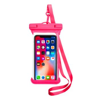 New Water Proof Mobile Phone Case IPX8 20M -  Red