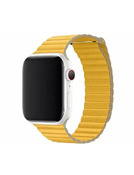 Coteetcl 44mm Magnetic Band  For iWatch - Lemon