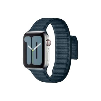 Coteetcl Dual Magnetic Watch Band For Apple Watch 38/40mm Pine Green