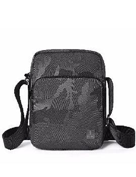 حقيبة كروس المتوسطه - مموهة أسود من ويوا