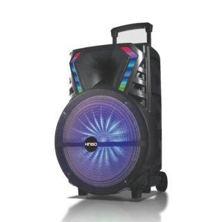"""15"""" Wireless Speaker Kimiso with Wireless Mic (QS-1510)"""