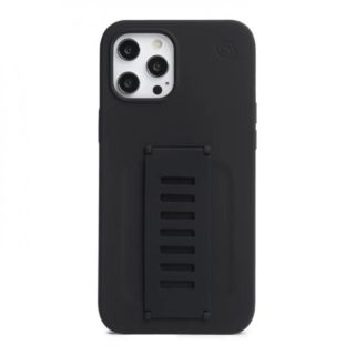 Grip2u Silicone Case for iPhone 12 - 12 Pro (Charcoal)