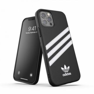 Adidas iPhone 12 - 12 Pro 3-Stripes Snap Case - Black (42230)