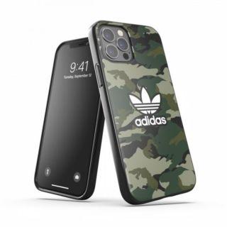 Adidas iPhone 12 - 12 Pro Camo AOP Snap Case - Green (42379)