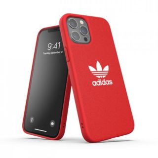 Adidas iPhone 12 - 12 Pro Moulded Case -Red (42269)