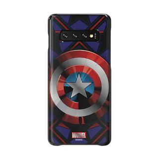 Samsung Galaxy S10 Marvel Smart Cover - Captain America