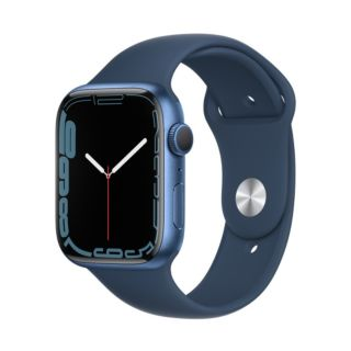 Apple Watch Series 7 45mm GPS - Blue Aluminum Case With Abyss Blue Sport Band