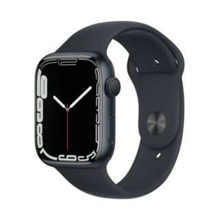 Apple Watch Series 7 45mm GPS - Midnight Aluminum Case With Midnight Sport Band