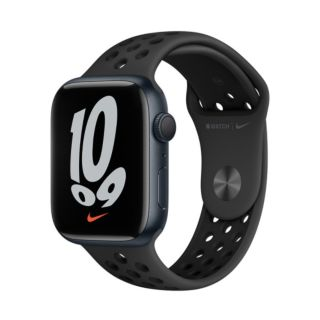 Apple Watch Series 7 45mm GPS - Nike Midnight Aluminium Case with Anthracite/Black Nike