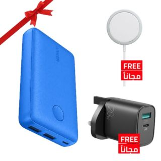 Bundle Offer - Anker PowerCore Select 10000mAh with Free X-Fitted Magnetic Charger & Joyroom 20W Adapter