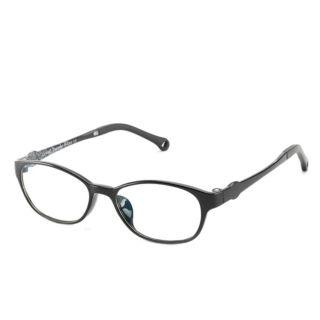 Cyxus Blue Light Blocking Glasses for Kids Bright Black (6106T01)