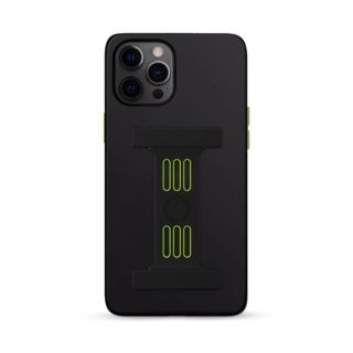 Goui Magnetic Case for iPhone 12 - 12 Pro with Magnetic Bars - Black