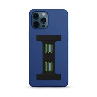 Goui Magnetic Case for iPhone 12 - 12 Pro with Magnetic Bars - Midnight Blue