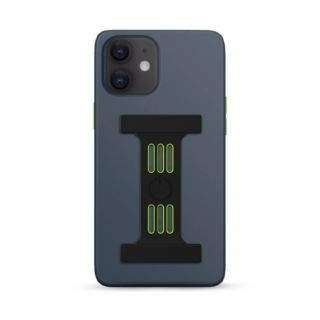 Goui Magnetic Case for iPhone 12 - 12 Pro with Magnetic Bars - Stell Grey
