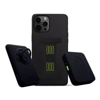 Goui Bundle - Magnetic Case + 5000mAh Magnetic Wireless Power + Car Mount (Magnetic + Wireless charger)