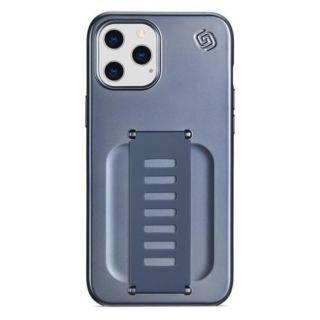 Grip2u SLIM for iPhone 12/12 Pro (Metallic Blue)