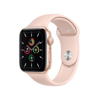 Apple Watch Series 6 GPS 40mm Gold Aluminium Case with Pink Sand Sport Band (MG123ZP/A)