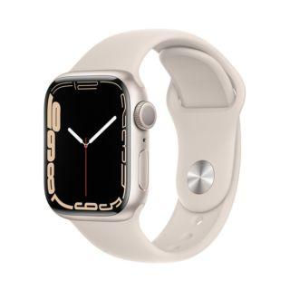 Apple Watch Series 7 41mm GPS - Starlight Aluminum Case With Starlight Sport Band