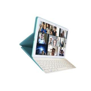 "Alcatel 10"" Tab 32GB WiFi 8092 - Cream Mint with Keyboard"