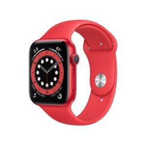 Apple Watch Series 6 GPS 44mm PRODUCT(RED) Aluminium Case with PRODUCT(RED) Sport Band (M00M3ZP/A)